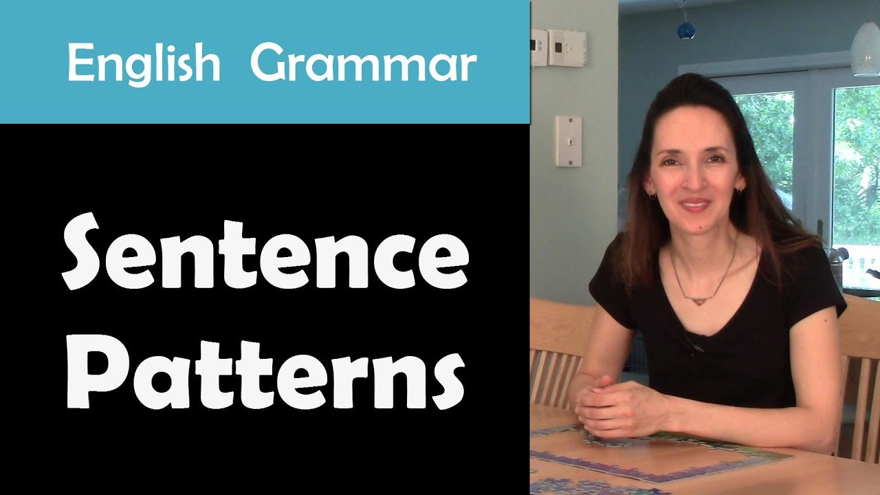 English Grammar Sentence Patterns