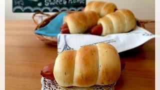造型麵包~腸仔包 (老麵)