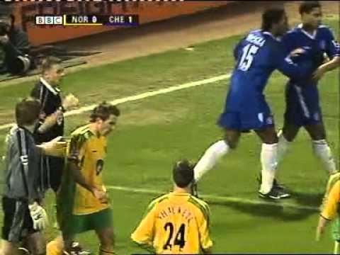 Norwich City v Chelsea Season 2004-5