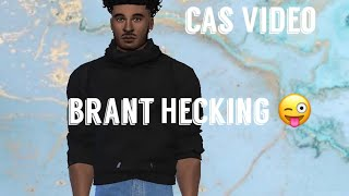 Brant Hecking Relooking ll Les Sims 4 Créer - Un - Sim