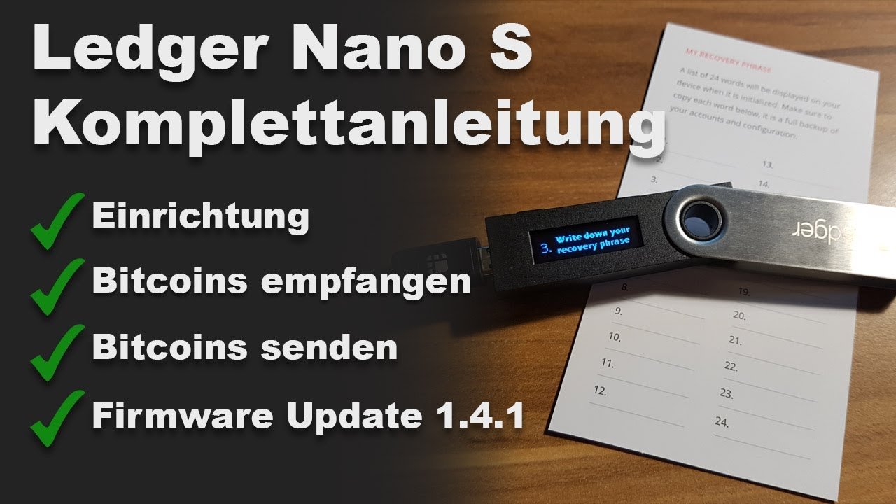 Ledger Nano S Deutsch