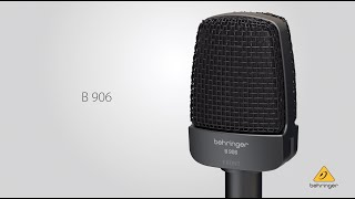 Introducing the Behringer B 906