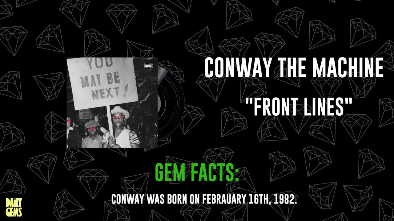 Download CONWAY THE MACHINE - FRONT LINES