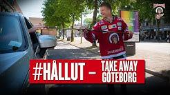 HÅLL UT – Nicklas Lasu och Mats Rosseli Olsen delar ut take away