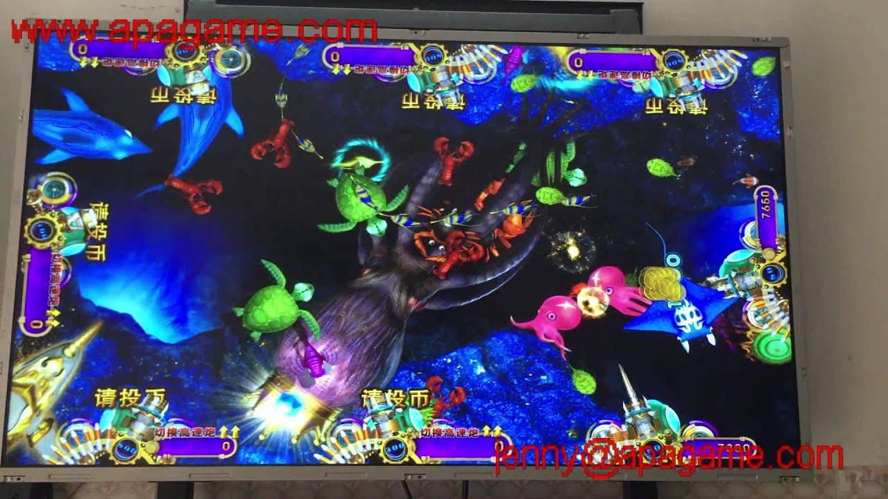 Igs ocean king 2 c fish game machine youtube for Ocean king fish game
