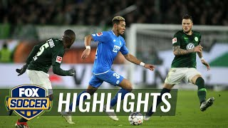 VfL Wolfsburg vs. 1899 Hoffenheim | 2018-19 Bundesliga Highlights