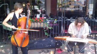 RelyLocalAsheville.com Video Clip: Nomadic Minstrels play in downtown Asheville NC