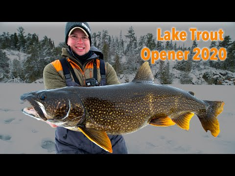 LAKE TROUT OPENER 2020! (New PB)