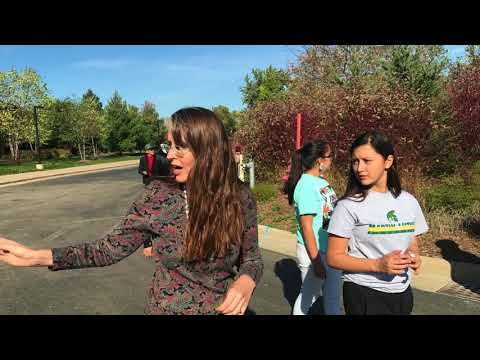Ojibwe Language Walk - Indian Community School of Milwaukee