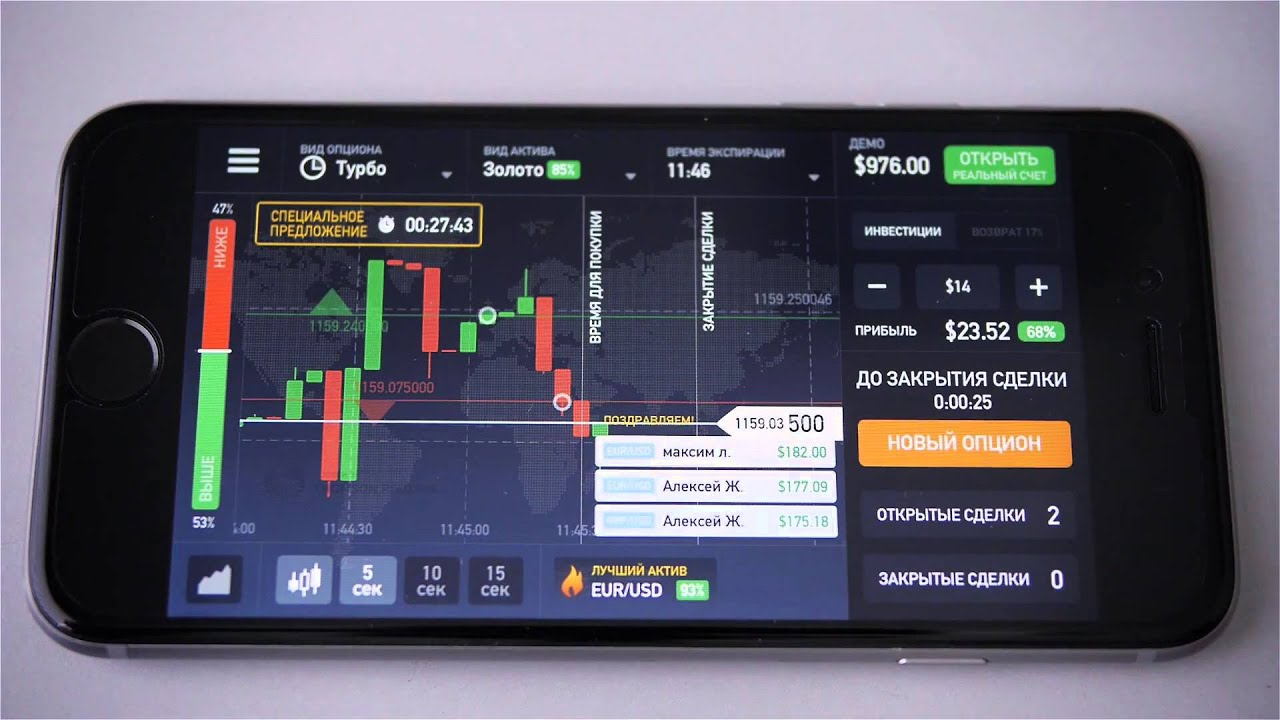 Binary options iq app