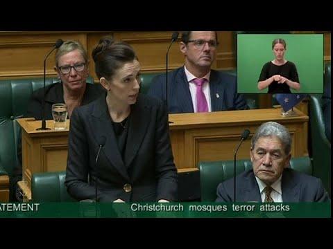 رئيسة وزراء نيوزيلندا: لن ينطق لساني بإسم منفذ مذبحة المسجدين …  - 08:53-2019 / 3 / 19