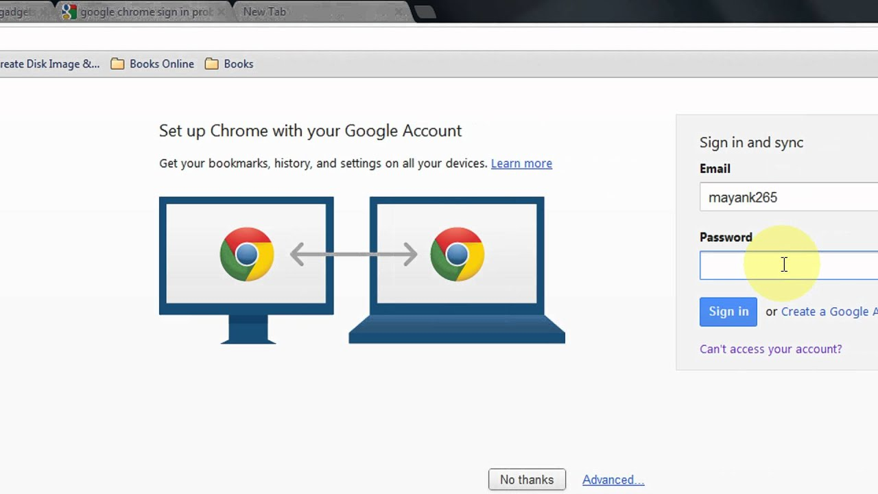 How To Fix The Google Chrome Sign in and sync problem Step By Step Tutorial