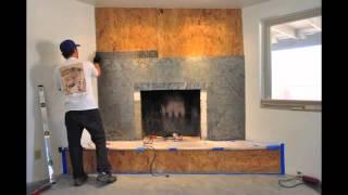 Txtr-lite Fireplace Install