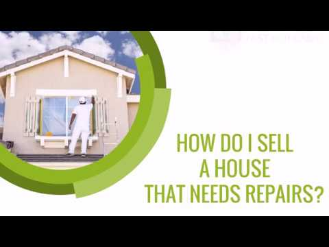 How Do Sell A House That Needs Repairs?