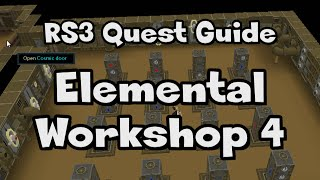 RS3: Elemental Workshop 4 Guide - RuneScape
