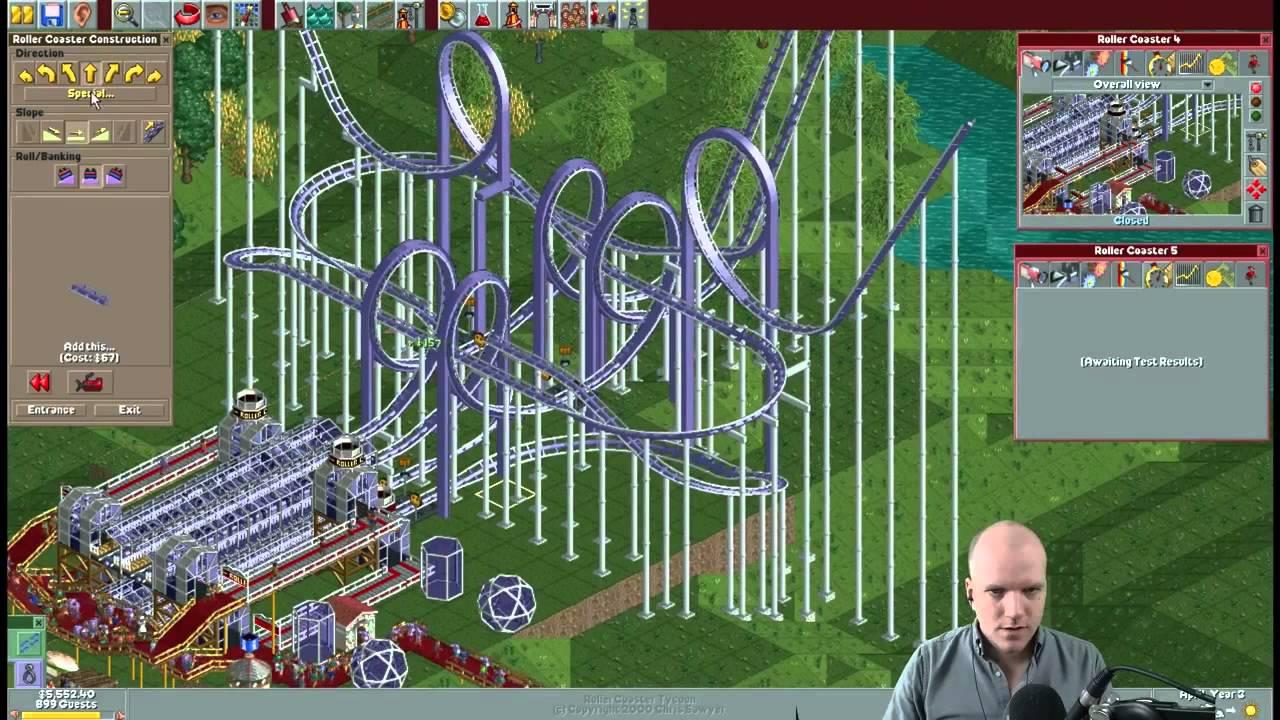 Rollercoaster Tycoon scenario #27 Vertigo Views - Vidly xyz