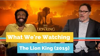Interviews with the Cast of The Lion King (2019) | What We're Watching The Reel Dallas