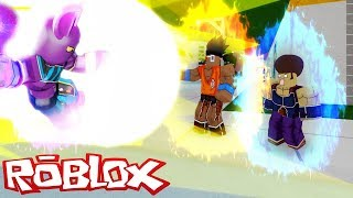 ROBLOX-USING MY NEW POWERS (Dragon Ball Z Final Stand)
