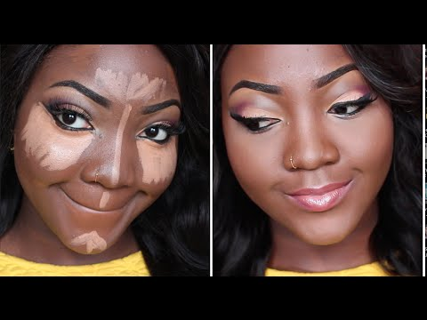 FOUNDATION, CONTOUR AND HIGHLIGHT MAKEUP TUTORIAL