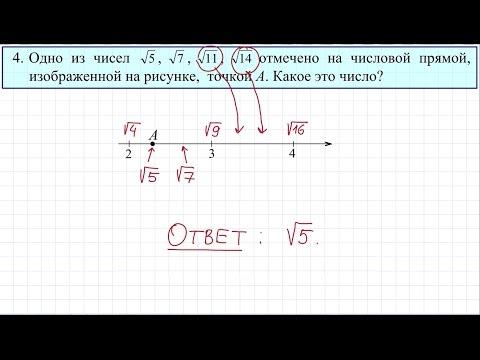 ГВЭ 2016 по математике для 9 класса (ОВЗ) #4
