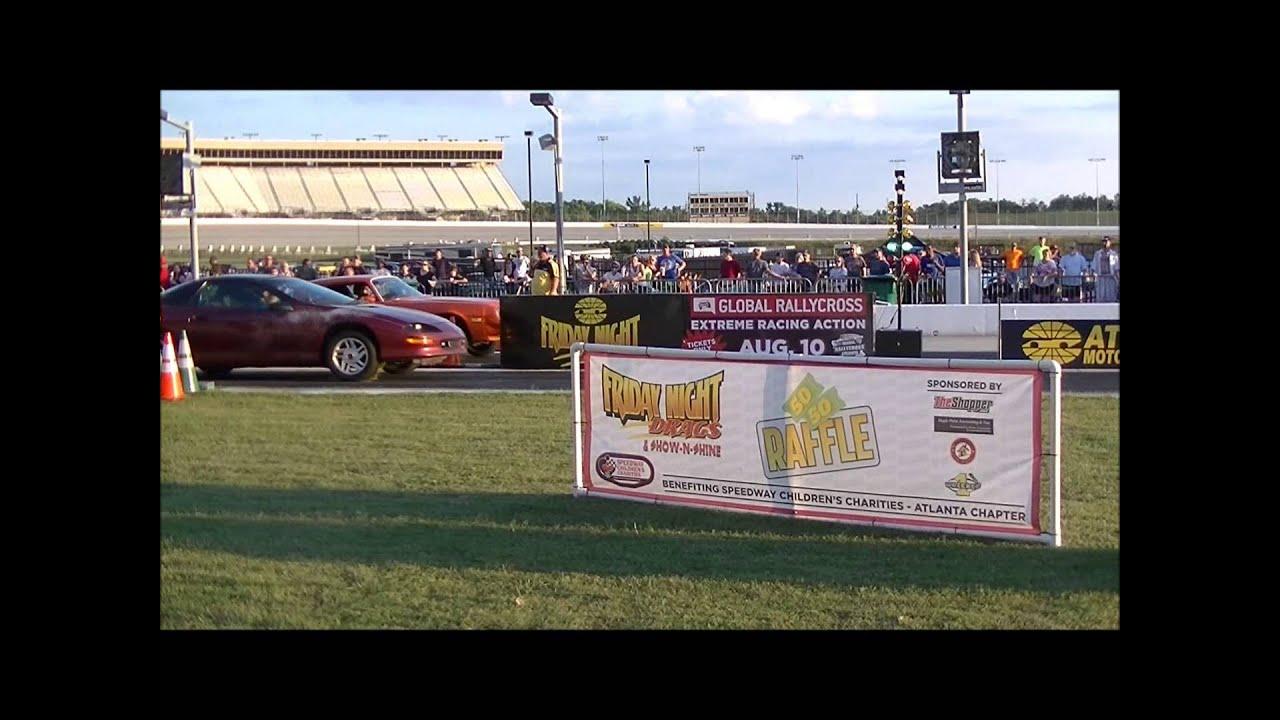 Atlanta Motor Speedway Friday Night Drag June 14 2013
