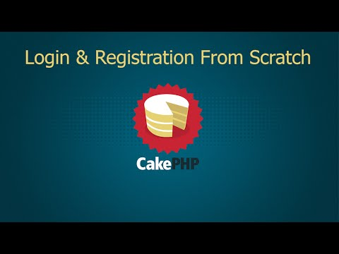 CakePHP 3.1 Login & Registration From Scratch - Part 1