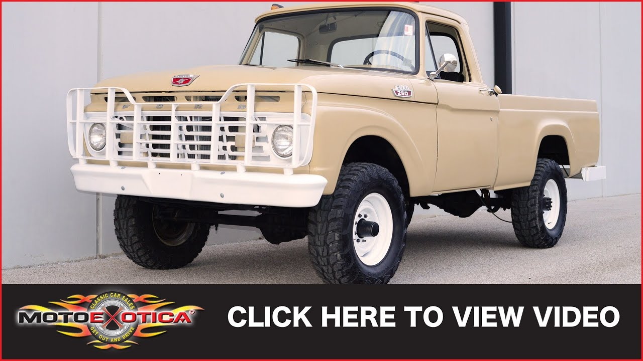 1964 ford f 250 sold youtube