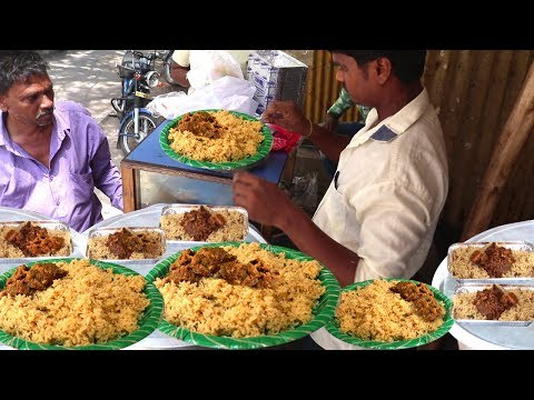 Best Cheapest Chicken Pulao @ 50 rs only    Hyderabad Street Food   Amazing Food Zone