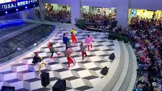 DA PUMP  【U.S.A】池袋サンシャイン噴水広場2階