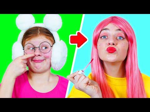 Младшая и Старшая школа Забавные Ситуации | Смешые Моменты с Сёстрами