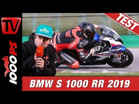 BMW S 1000 RR 2019 - Trackday Test auf der Rennstrecke