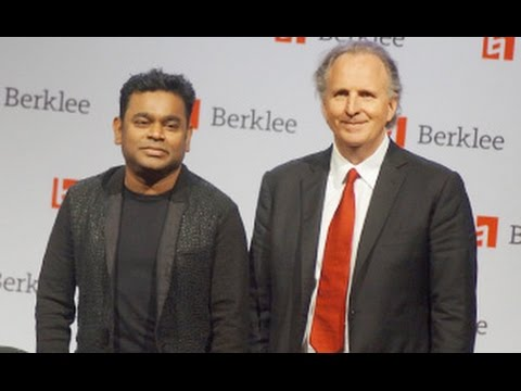 A.R Rahman attends Berklee College of Music Scholarship Awards