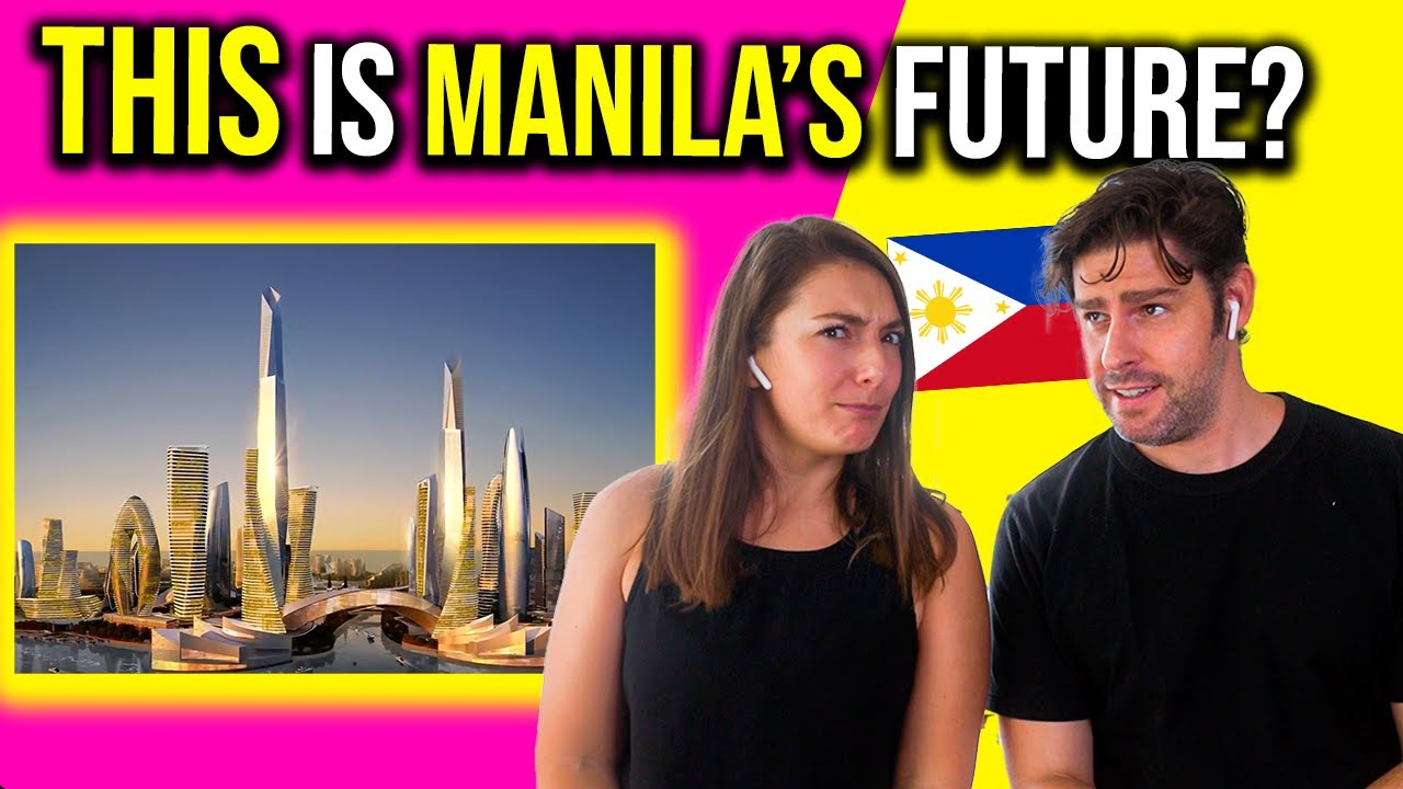 Foreigners react to MANILA'S City Of Pearl MEGA MODERN Project