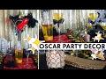 Hollywood Party Theme Oscar Centerpiece Decorations | BalsaCircle.com