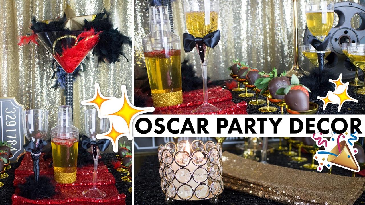 hollywood party theme oscar centerpiece decorations balsacircle rh youtube com hollywood themed table centerpieces