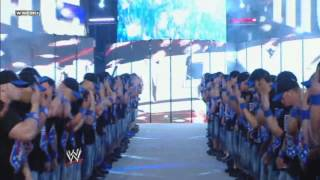 John Cena Entrance WrestleMania 25