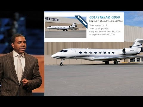 Creflo Dollar Ministry Says He Will Get his $65,000,000 G650 Jet Despite Criticism.