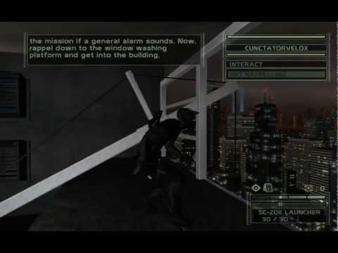 Splinter Cell Chaos Theory Co-Op Part 6: UN Headquarters
