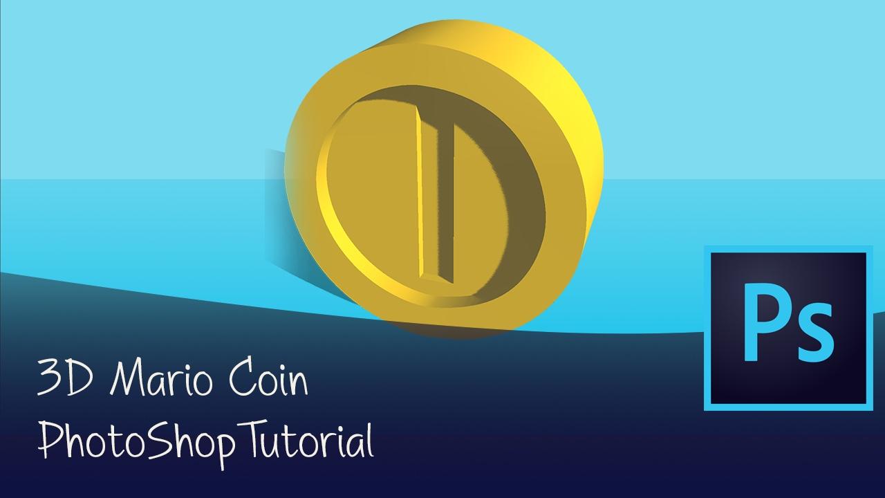 Modeling a Mario Coin | Photoshop 3D Tutorial