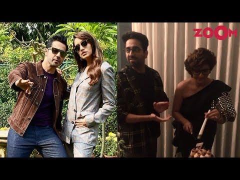 Varun & Shraddha promote Street Dancer 3D | Ayushmann celebrates Tahira's birthday | Insta Zoom