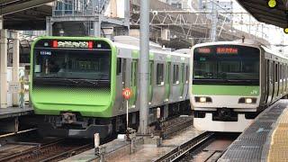 山手線E231系&E235系 東京駅発着集
