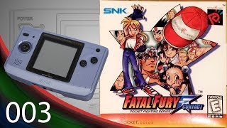 Fatal Fury: First Contact [003] NeoGeo Pocket Color Longplay/Walkthrough/Playthrough (FULL GAME)