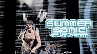 Gambar cover Red Hot Chili Peppers - Live in Tokyo (Summer Sonic Festival 2011)