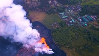Volcano Lava Reaches Geothermal Plant and Pacific Ocean in Hawaii, Risking Public Health Disaster