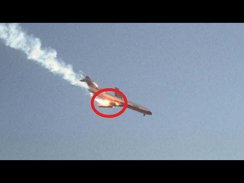 НАСТОЯЩЕЕ видео с места крушения Ту-154 под СОЧИ