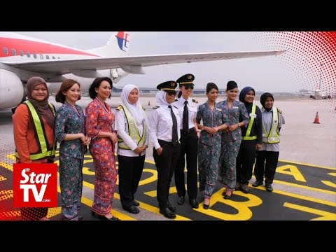 A special flight to honour women in Malaysia Airlines