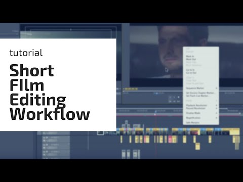 Short film editing workflow in Adobe Premiere Pro (Video Blog)