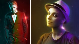 Double Light Photo Effect In Photoshop CS6 Extended