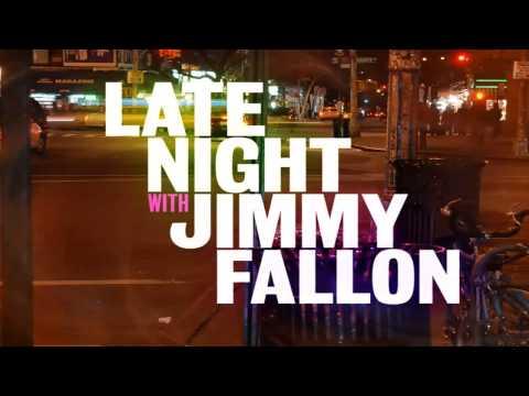 Late Night with Jimmy Fallon Opening