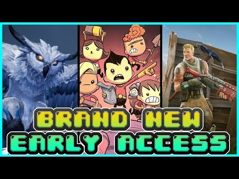 TOP TEN NEW EARLY ACCESS GAMES